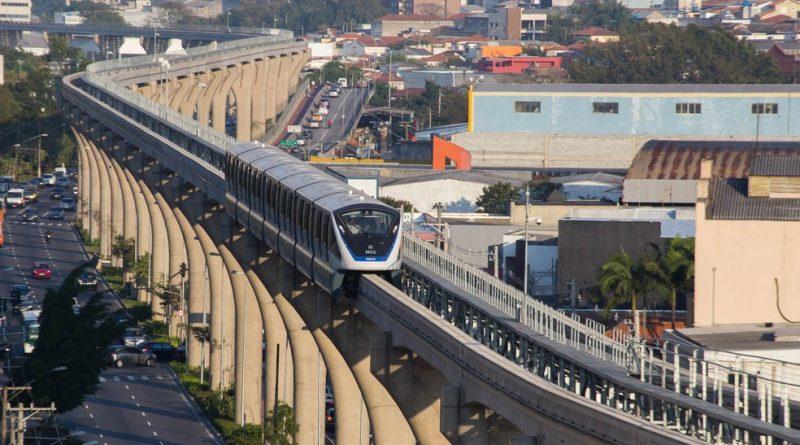 Linha 15-Prata passará por testes no sábado (24) e no domingo (25)